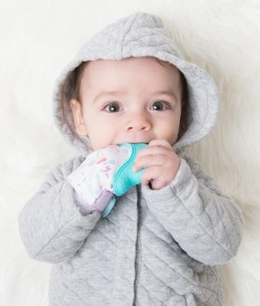 Teething Mitten for babies